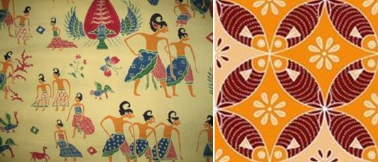 Semarang Batik. It generally has reddish orange base color with a more ...